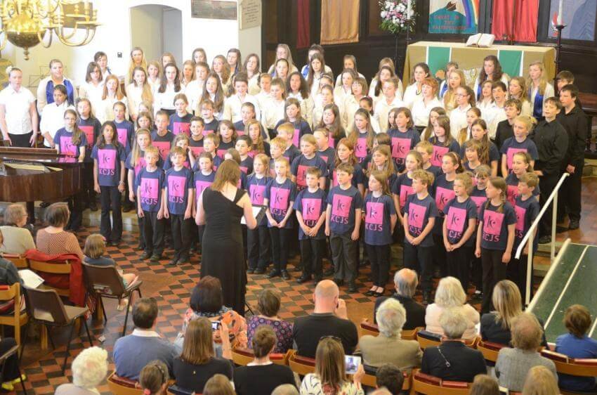Kent Junior Youth Choirs website